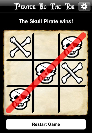 Screenshot Pirate Tic-Tac-Toe